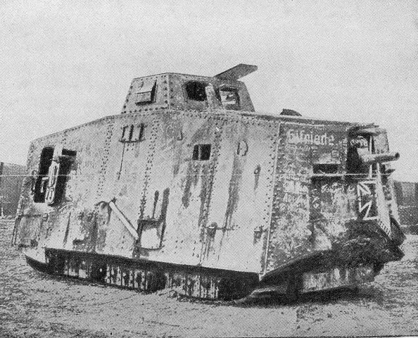 A German A7V. 20 were ever built.